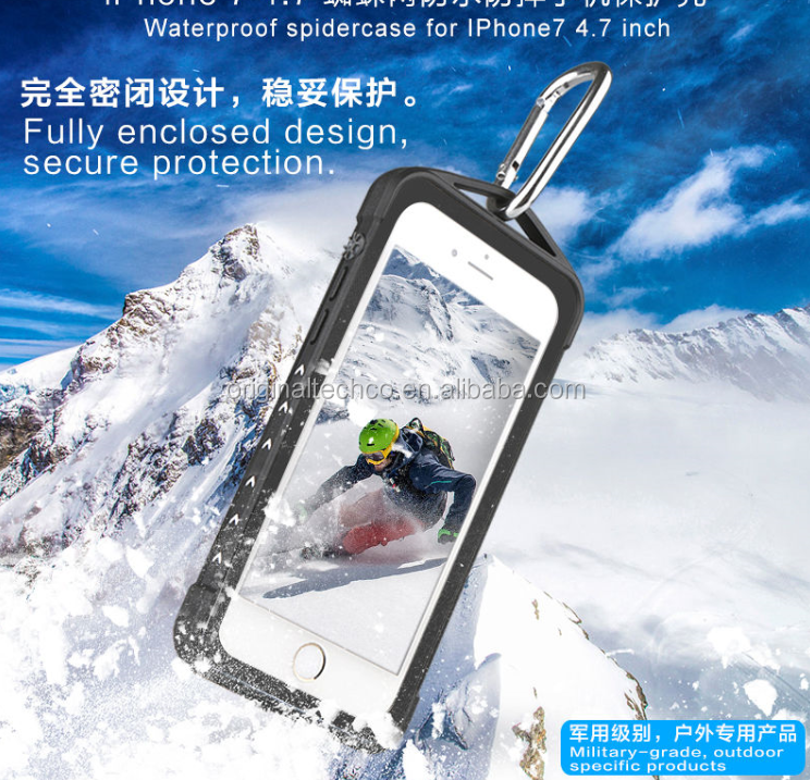 green snow proof for mobile phone , shenzhen water proof for iphone 7