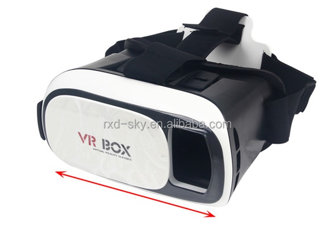 "2015 Google VR BOX 2.0 Version VR Virtual Reality Glasses Rift 3d movies and 3d Games Movie for 4.7"" - 6.0"" Smart Phone"
