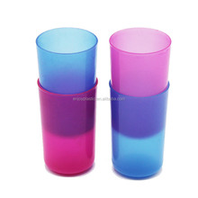 200ml Unbreakable Plastic Frosted Kids Bathroom Cups for Teeth Washing