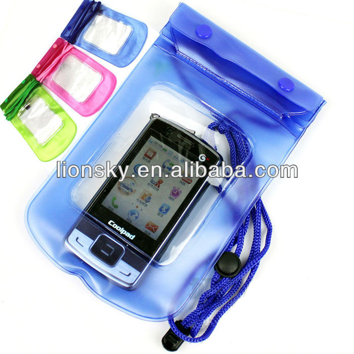 Blue 100% Waterproof case Dry Bag Sleeve For Samsung Galaxy S3 i9300 /Lg Nexus 4