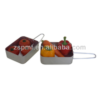 Portable promotional aluminum pasta pots with decor