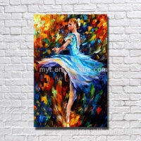 Dance Girl knife picture nude girls painting naked girl handmade drawing