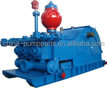 Piston and Plunger Type Triplex Mud Pump for Drilling
