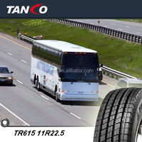Chinese brand regroovable tires TR615 11R22.5