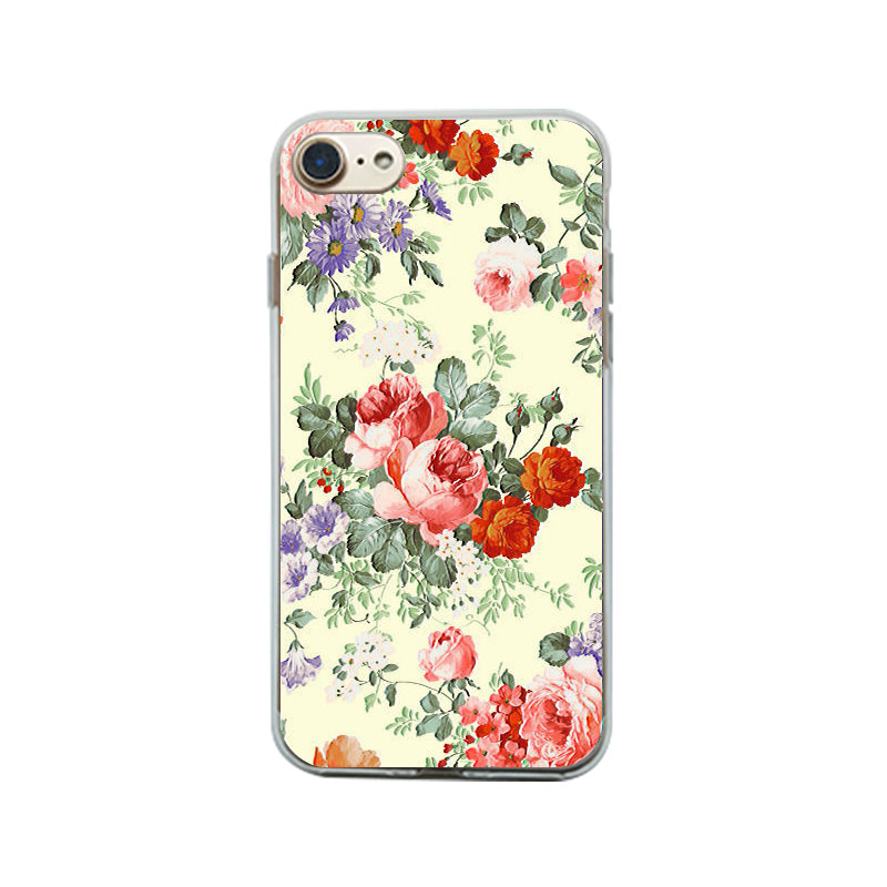 Custom new product phone case for iPhone, UV printing cell phone case for iPhone 7, leather case