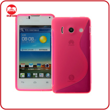 Accessories Hot Pink Soft S-line TPU Case for Huawei y300/u8833