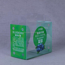 Hot selling packaging junction box for clear pvc plastic transparent box