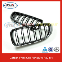 FOR BMW M3 M4 Front Grills Carbon Fiber & ABS Materials F80 F82 Car Grille