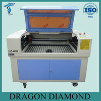 60w co2 laser cutter / small co2 laser cutting machine with CE LZ-6090