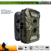 Outdoor Wireless Hidden Camera Long Range Housing With Alarm System, Optional to turn on/off camera speaker