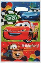 Wholesale Cars Treat Sacks/Boys Birthday Party Products/Party Accessories/Cars Themed Party Supplies and Decorations