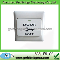 2013 best selling access control Plastic Exit Door Release button exit button