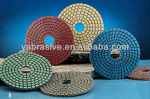 concrete wet polishing pads /wet polishing pad for concrete