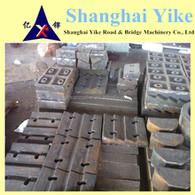 high manganese steel,long work time, liner plate of impact crusher parts