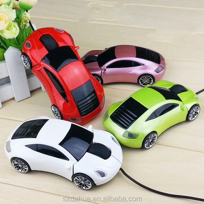Latest 3D Car Shape Mini Optical USB Wired Computer Mouse