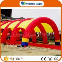 2016 Promotion inflatable military camping tent inflatable advertising tent for trade show