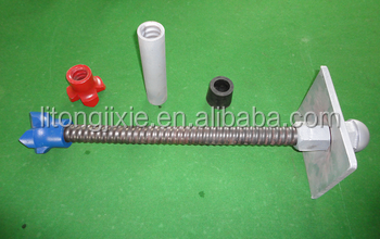High quality and high stability steel anchor bolt / self drilling rock bar / Prestressed Hollow Grouting Anchor Bolt