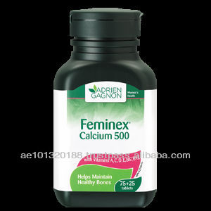 Canada Health Product 500mg Feminex Calcium