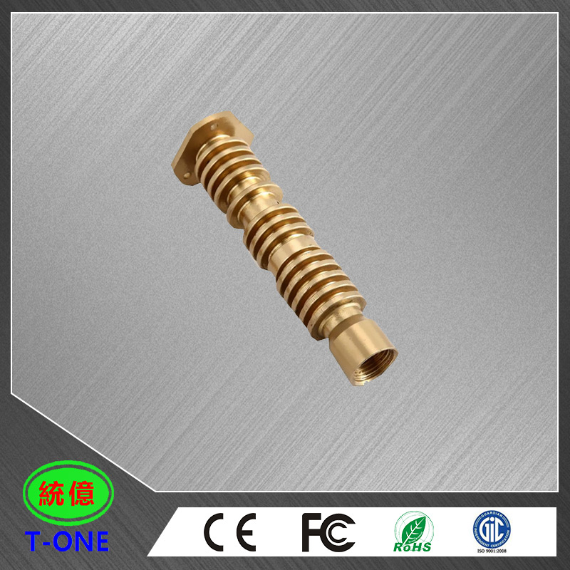 Machinery Parts /Custom Brass Product/CNC Turning Brass Part