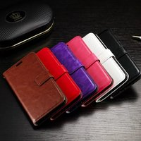 Cheap simple beautiful ladies stand wallet mobile cell phone leather phone covers cases for LG