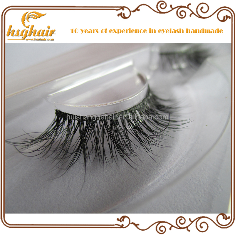 Free shipping strip lashes 3D mink fur eyelash