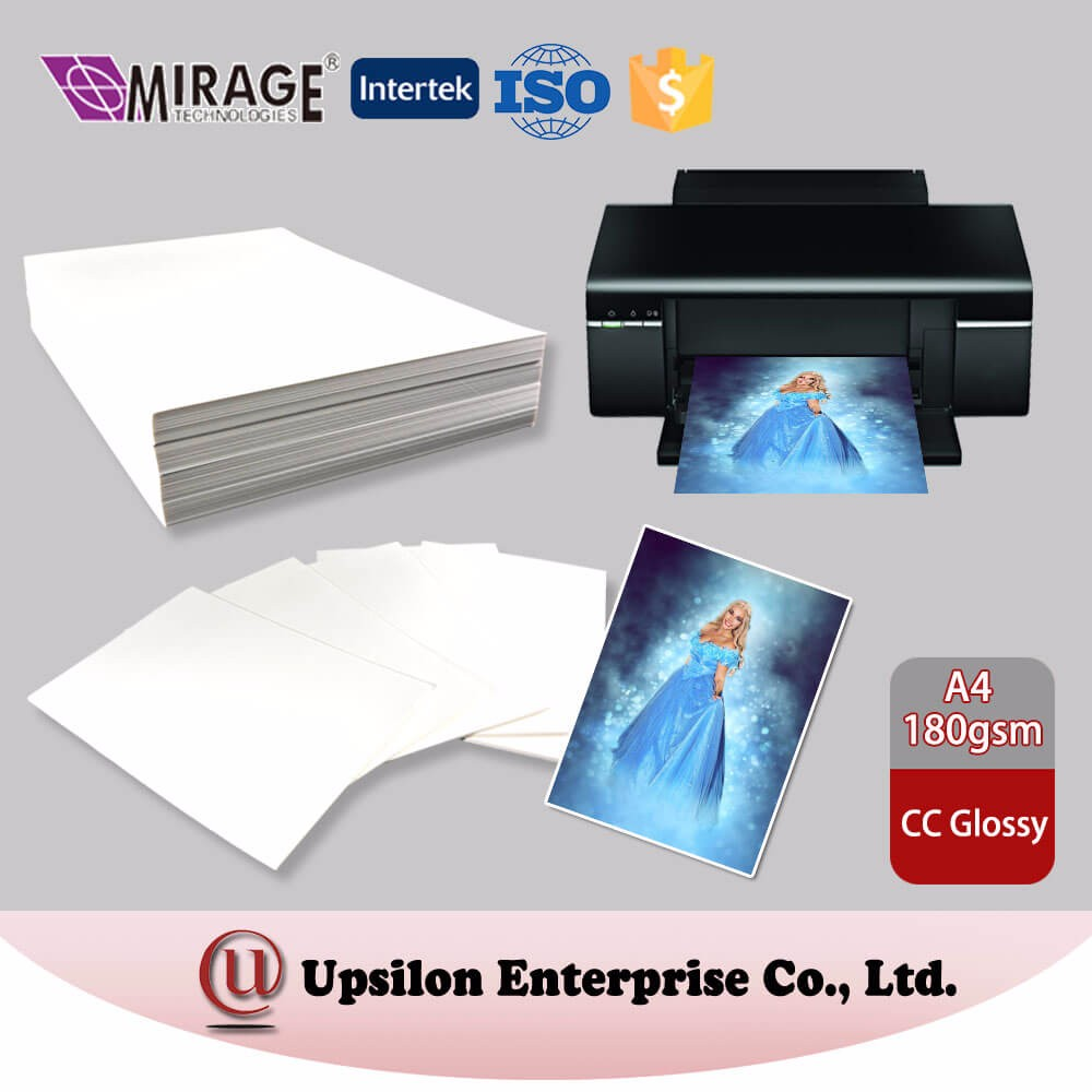 Inkjet 180gsm Waterproof Glossy 4x6 Photo Paper
