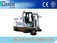Advanced filtering system with bigger filter area JQ-1800D electric road sweeper