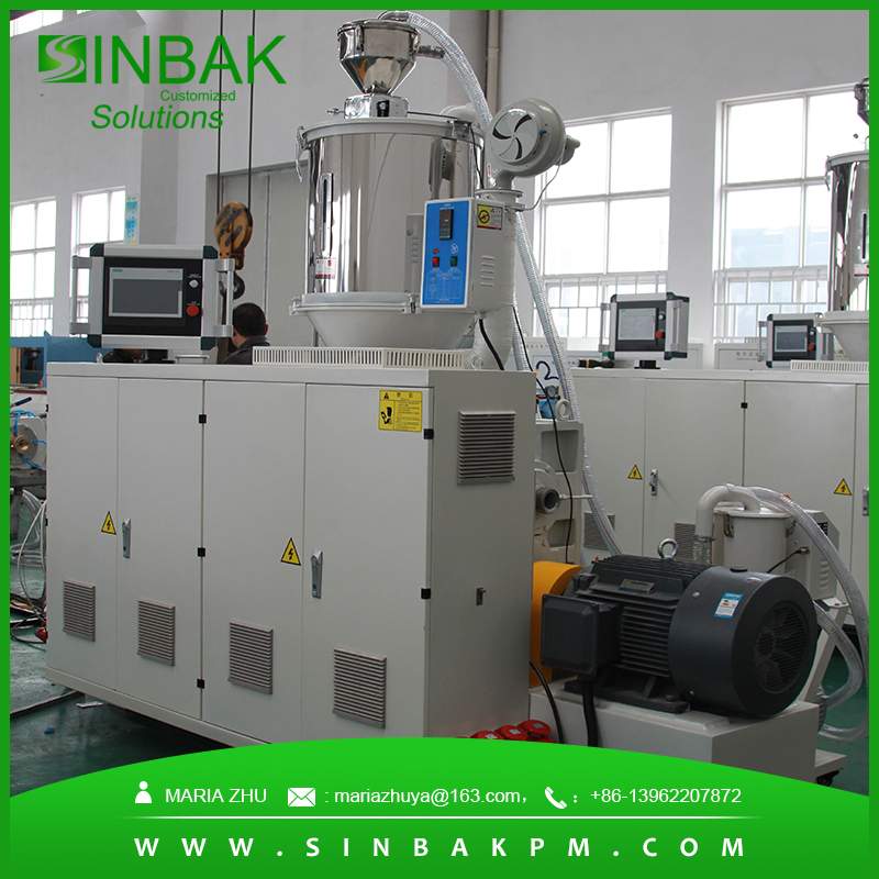 Good Plasticizing Capacity PE Wax Extruder Machine for Making Extrusion Machine