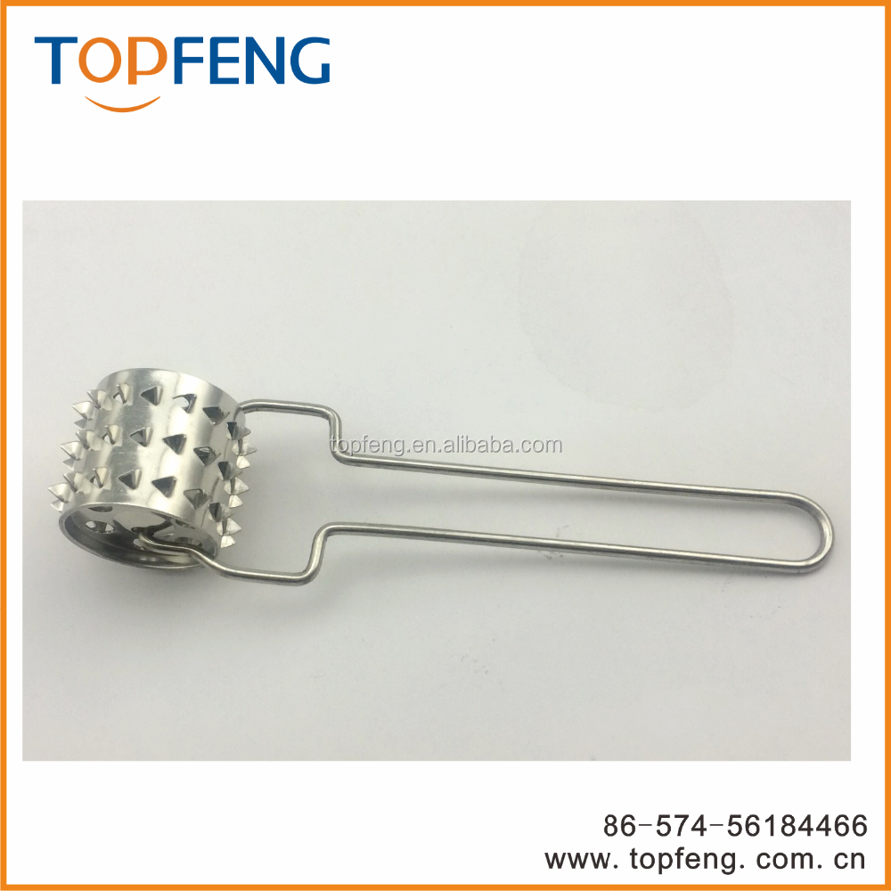 meat tenderizer, meat roller, needle roller