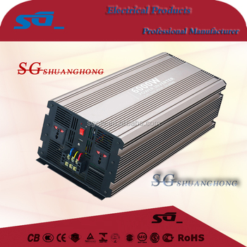 off grid pure sine wave inverter 12v/24v48v convert 220v 6000w household