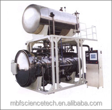 Hot Water Rotary Autoclave, Model: RA-2, Used for Second Sterilization of Bottled and Canned Food, 1.3kg Volume