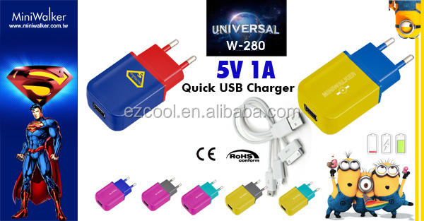 OEM brand 5V 1A USB wall Charger and newest premium usb charger for mobile phone accessories