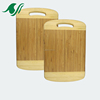 2018 new factory supplying high quality bamboo cutting board with brand logo