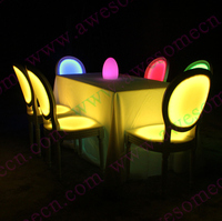 event equipment hire / led banquet chairs