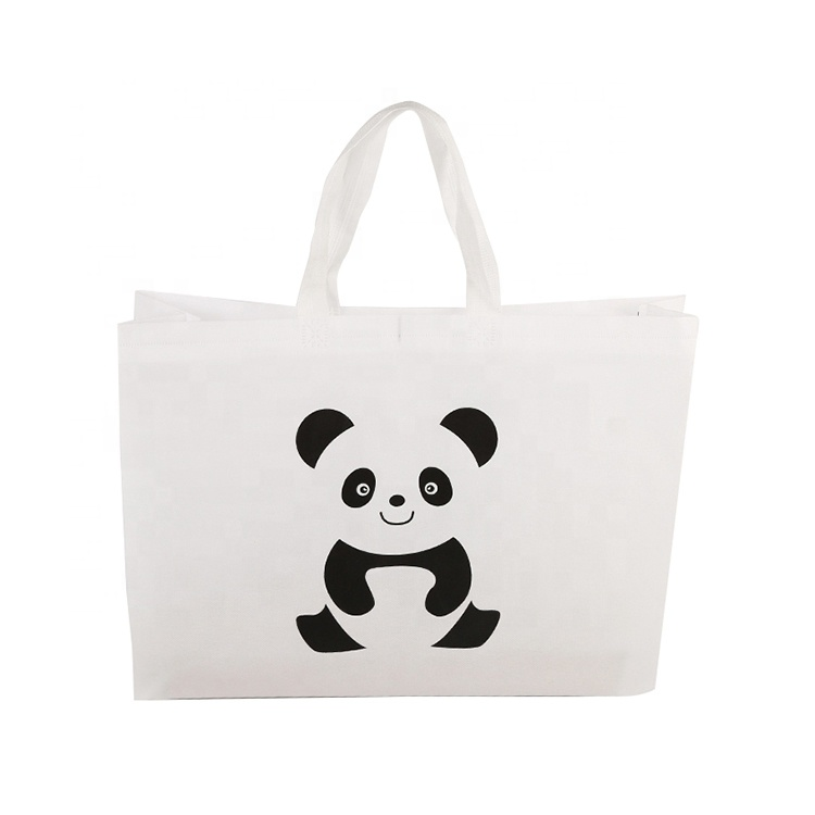 Eco High Quality Cheap Custom Printed Logo Gift Halloween Reusable Grocery Tote reusable Shopping Non Woven Fabric Bag