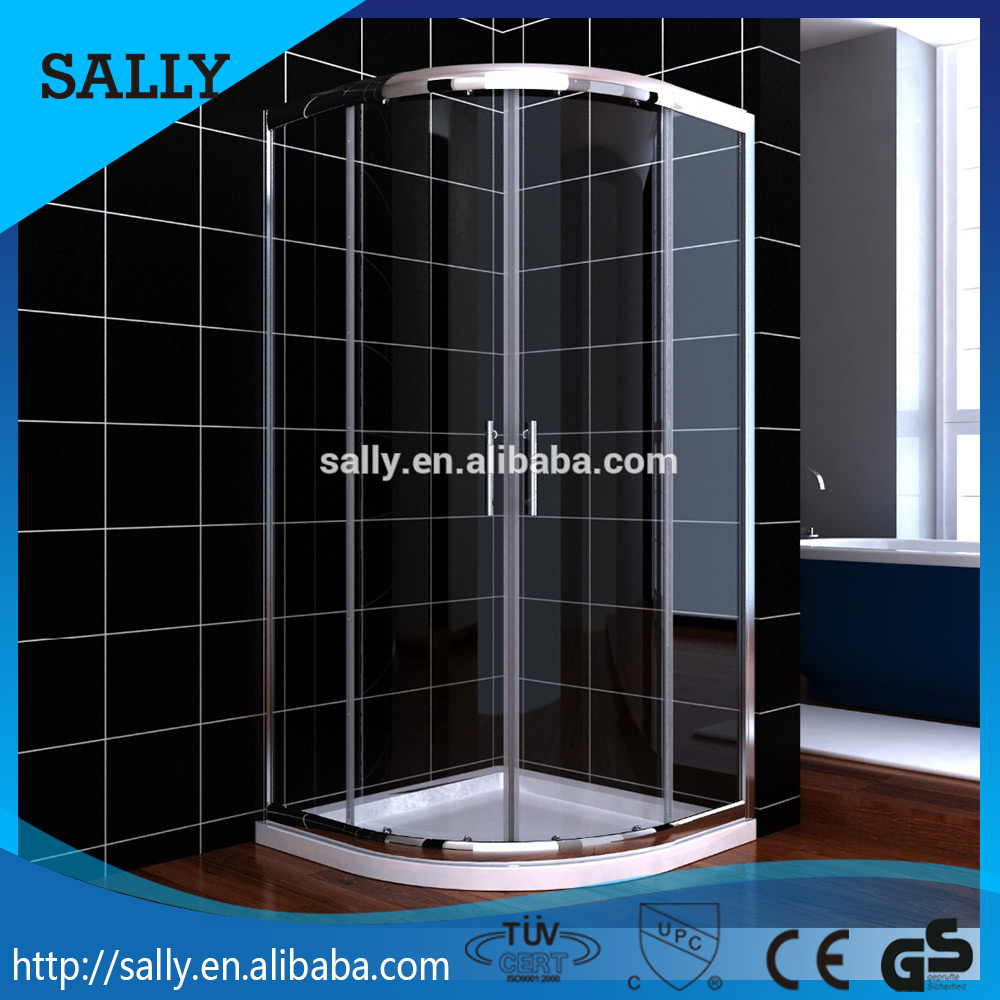 China wholesale bathroom showers sliding door aluminum shower door frame