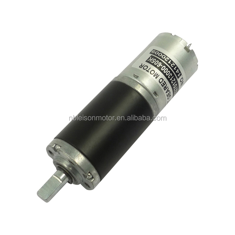 25mm 12 volt 24 volt Mini Brushed Dc Electric Gear Motor