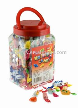 Mixed flavour Hard fruit candy, twist packed fruit candy, good taste candy
