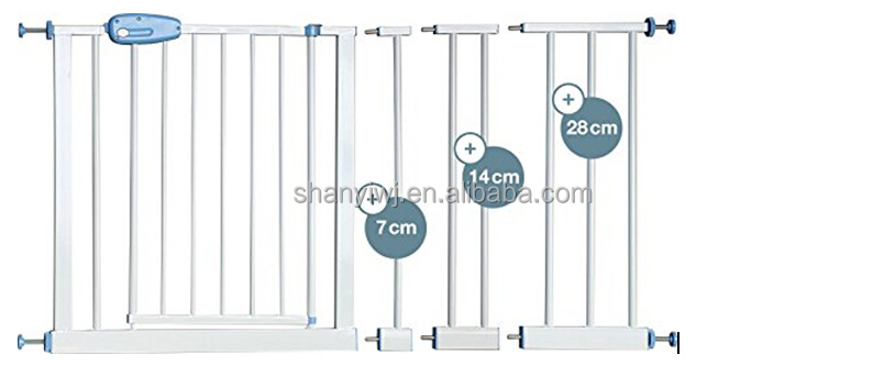 Superieur Pressure Mounted Gate Metal Door And Stairs Baby Safety Gate   Buy ...