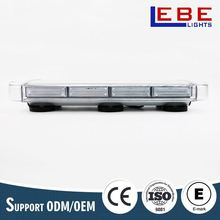 40W all color available auto police led roof ambulance light bar