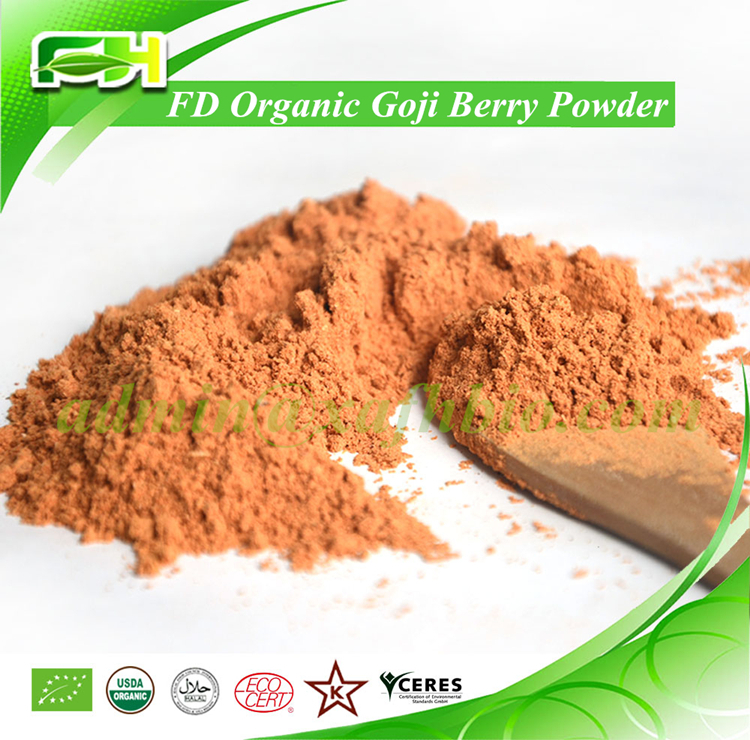 2016 New Certified FD Organic Goji Berry Powder