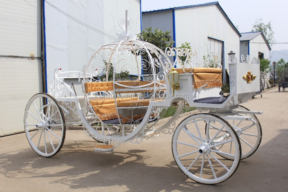Theme park vis-a-vis pumpkin carriage for sale Horse pull carriage