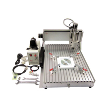 CNC router machine for aluminum 6040 mini cnc machine 3 axis with ball screw and 2.2KW water cooling spindle