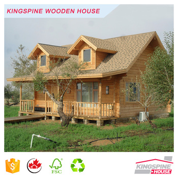 Log Cabin Wood House with High Quality Made In China KPL-009