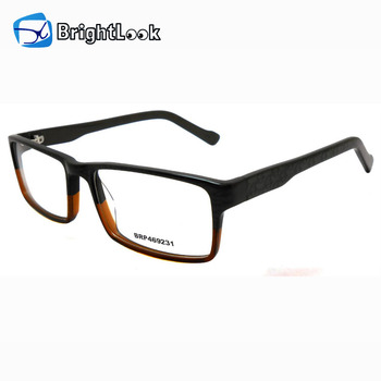 Latest hot fashion elegant colorful designer men acetate factory eyewear frame eyeglasses