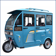 2017 New Closed cabin 1000W Electric Auto Rickshaw Tuk Tuk For Sale
