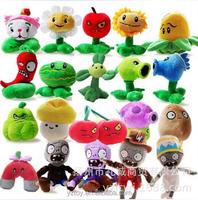 20 Styles Plants vs 28cm Zombies Plush Toys 12-28cm Plants vs Zombies Soft Stuffed Plush Toy for Kids Gifts Party Toys