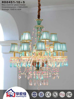 istanbul bohemian blue crystal chandelier parts with spare glass
