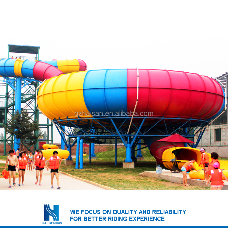 Hot sell Most popular indoor swimming pool water slide for sale