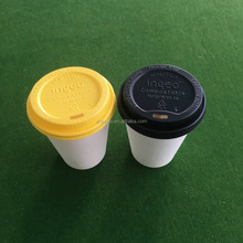 Black color customized color CPLA paper cup lid with good quality